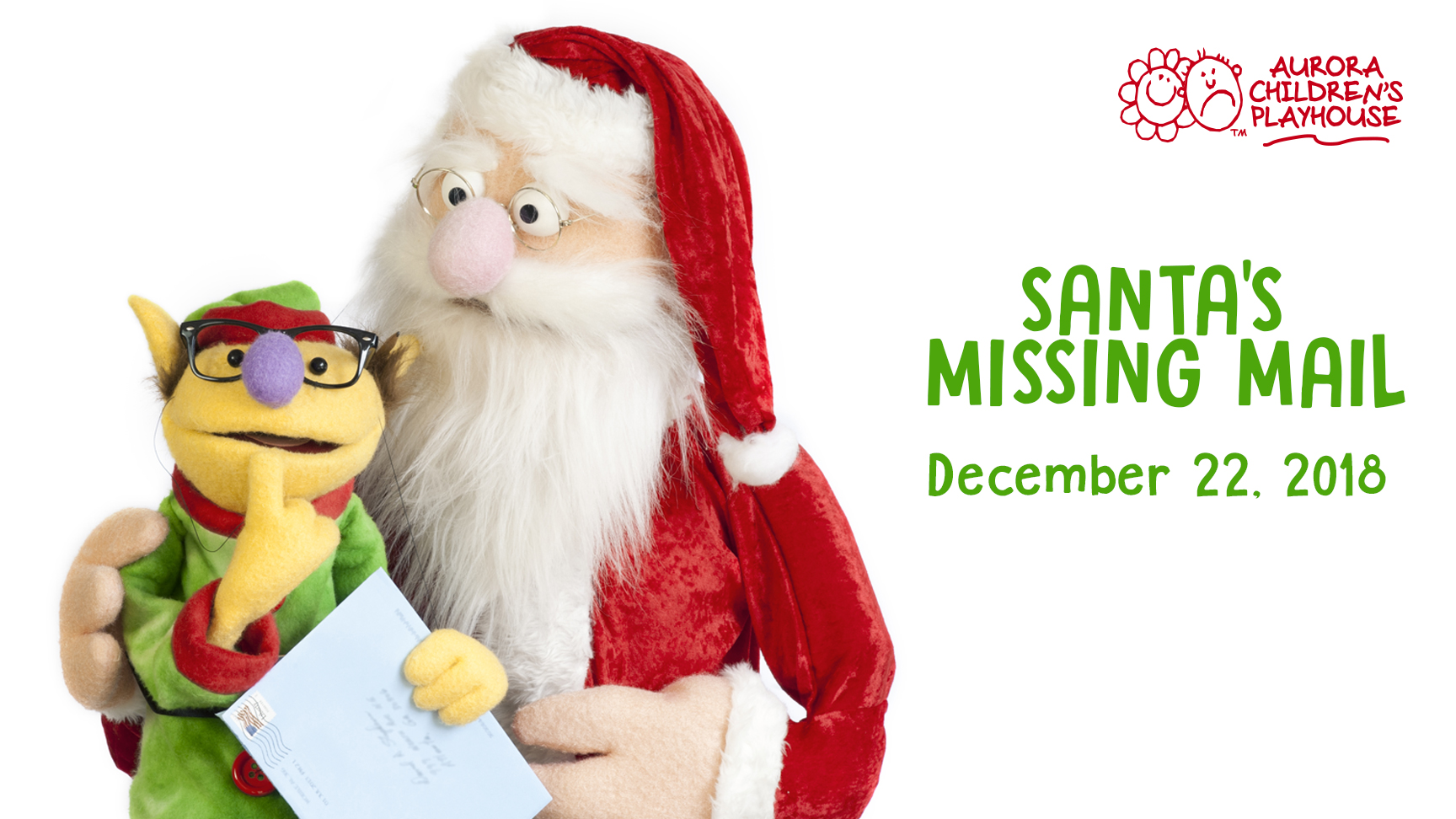 Mail On Christmas Eve 2019.Santa S Missing Mail Aurora Theatre
